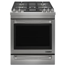 """See Details - Pro-Style® 30"""" Slide-In Gas Range Pro Style Stainless"""