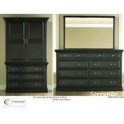 Sorrento Two Door Chest & Base Sorrento Dresser & Mirror