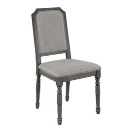 Upholstered Dining Chairs, Set of 2 - Harbor Gray Finish