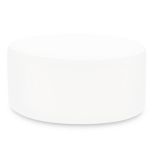 Universal Round Ottoman Cover Seascape Natural (Cover Only)