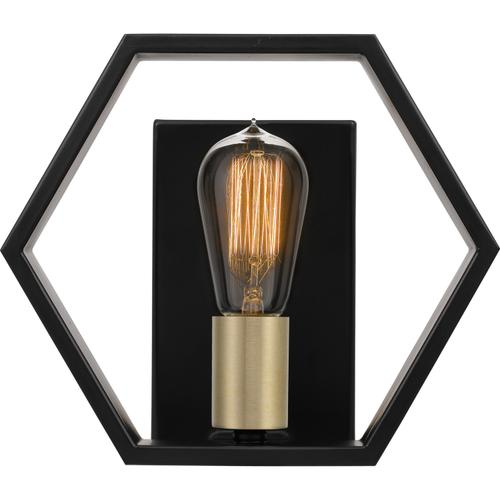 Quoizel - Bismarck Wall Sconce in Earth Black