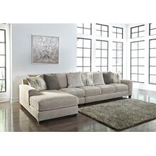 Ardsley II Sectional Pewter Left