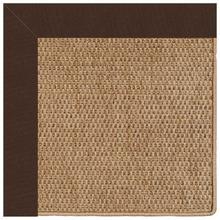 "View Product - Islamorada-Basketweave Canvas Bay Brown - Rectangle - 24"" x 36"""