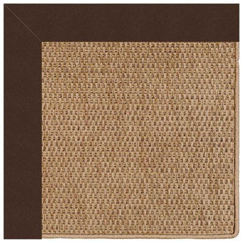 "Capel Rugs - Islamorada-Basketweave Canvas Bay Brown - Rectangle - 24"" x 36"""