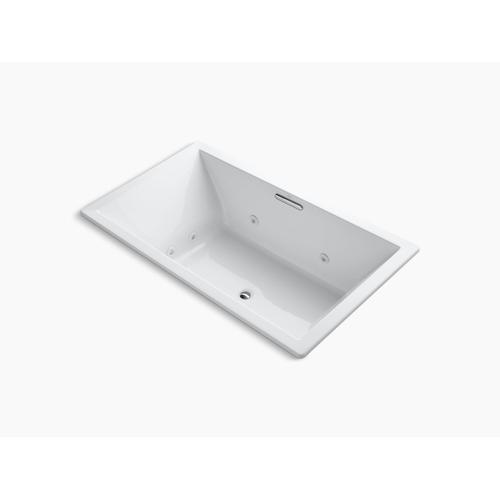 "Dune 72"" X 42"" Heated Whirlpool Bath With Center Drain"