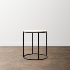 Boulder Round End Table