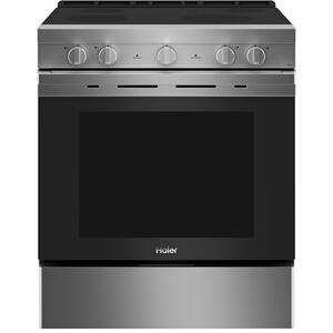"""30"""" Smart Slide-In Electric Range with Convection"""