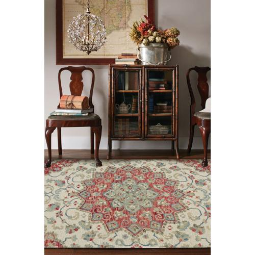 "Avanti-Palani Ivory Bloom - Rectangle - 3'6"" x 5'6"""
