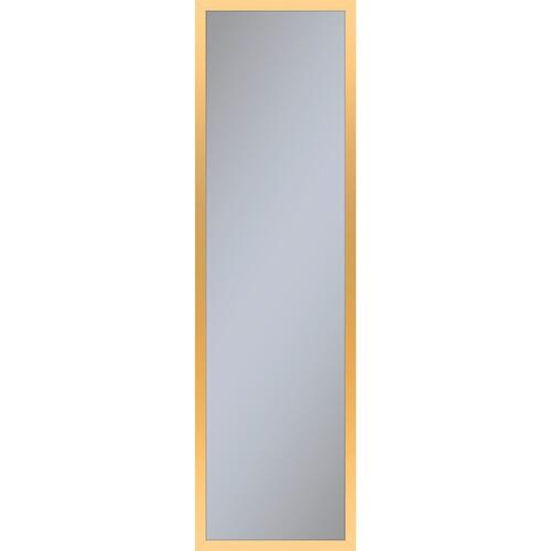 """Profiles 11-1/4"""" X 39-3/8"""" X 6"""" Framed Cabinet In Matte Gold and Non-electric With Reversible Hinge (non-handed)"""