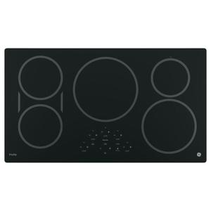 """GE ProfileGE PROFILEGE Profile™ 36"""" Built-In Touch Control Induction Cooktop"""