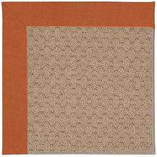 Creative Concepts-Grassy Mtn. Canvas Rust Machine Tufted Rugs