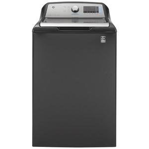GE® 5.0 cu. ft. Capacity Smart Washer with Sanitize w/Oxi and SmartDispense Product Image