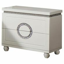 ACME Vivaldi Nightstand - 20243 - White High Gloss