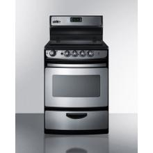 """See Details - 24"""" Wide Electric Smooth-top Range"""