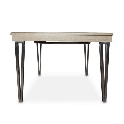 4 Leg Rectangular Dining Table (includes: 1 X 20 Leaf)