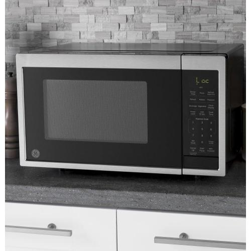 GE® 0.9 Cu. Ft. Capacity Smart Countertop Microwave Oven with Scan-To-Cook Technology