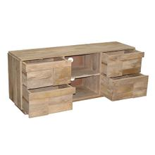 See Details - Low Console - Natural Mango Finish