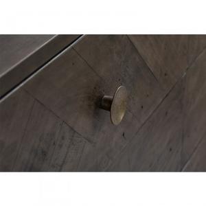 Laval Bedroom Dresser Grey Finish