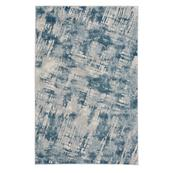 """Brushstrokes Prussian Blue - Rectangle - 3'11"""" x 5'6"""""""