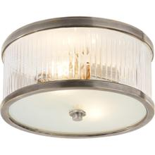 Alexa Hampton Randolph 2 Light 11 inch Antique Nickel Flush Mount Ceiling Light