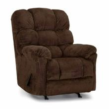Beasley Rocker Recliner in Davis Chocolate Fabric