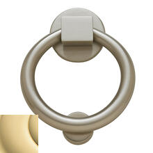 View Product - Non-Lacquered Brass Ring Knocker