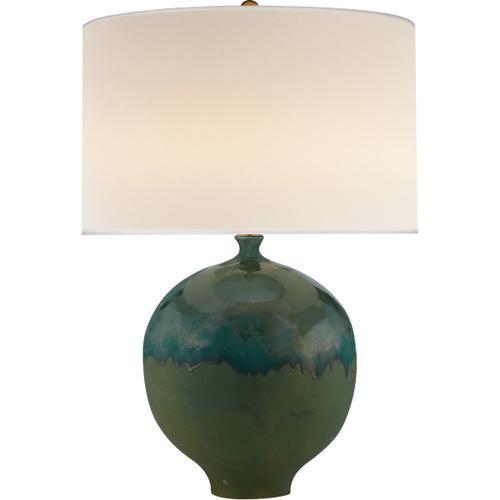 AERIN Gaios 31 inch 150 watt Volcanic Verdi Table Lamp Portable Light