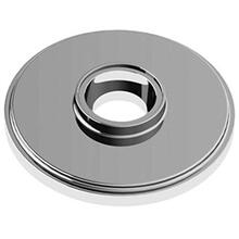 "Polished Nickel Concealed fix rose, 2 1/2"" diameter"