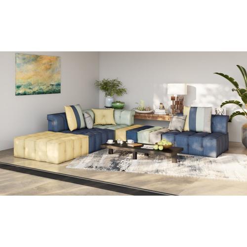 VIG Furniture - Divani Casa Dubai - Modern Multicolored Fabric Modular Sectional Sofa