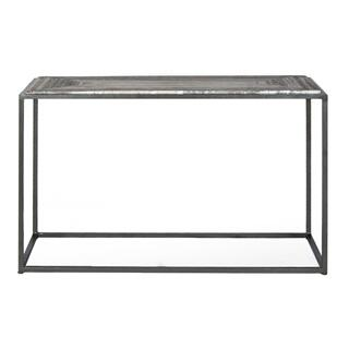 See Details - Winslow Marble Sofa Table