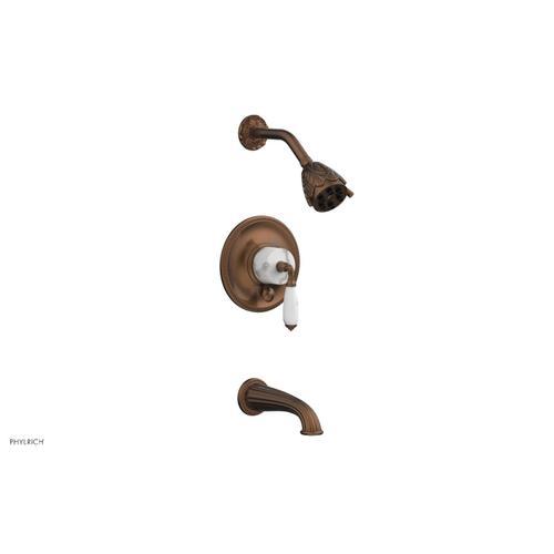 VALENCIA Pressure Balance Tub and Shower Set PB2338B - Antique Copper