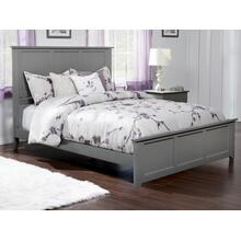 Madison Queen Bed with Matching Foot Board in Atlantic Grey