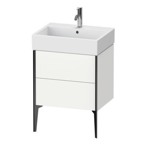 Vanity Unit Floorstanding, White Matte