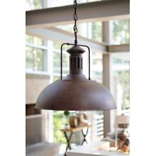 Metal Pendant Light (1/CN) Pendant Light - Antique Brown Collection Ashley at Aztec Distribution Center Houston Texas