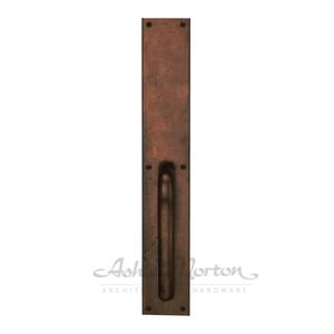 MD.G.18 Pull Handle Shown in light bronze patina Product Image