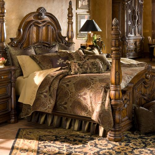 13PC.King Comforter Set Olive