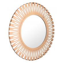 Conall Round Mirror Gold