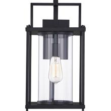View Product - Garrett Outdoor Lantern in Matte Black