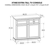 XT46E Extra Tall Custom TV Console