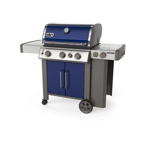 Genesis® II E-335 Gas Grill - Deep Ocean Blue