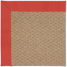 Creative Concepts-Raffia Canvas Paprika Machine Tufted Rugs