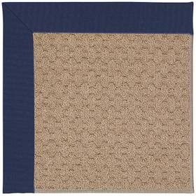 Creative Concepts-Grassy Mtn. Canvas Royal Navy Machine Tufted Rugs