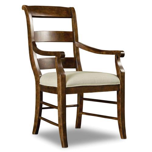 Dining Room Archivist Ladderback Arm Chair - 2 per carton/price ea