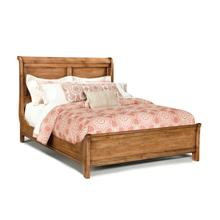 View Product - King Sleigh Bed W/Low Footboard