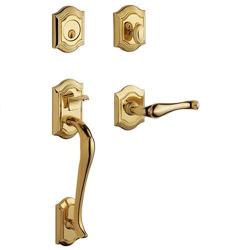 Baldwin - Lifetime Polished Brass Bethpage Sectional Trim
