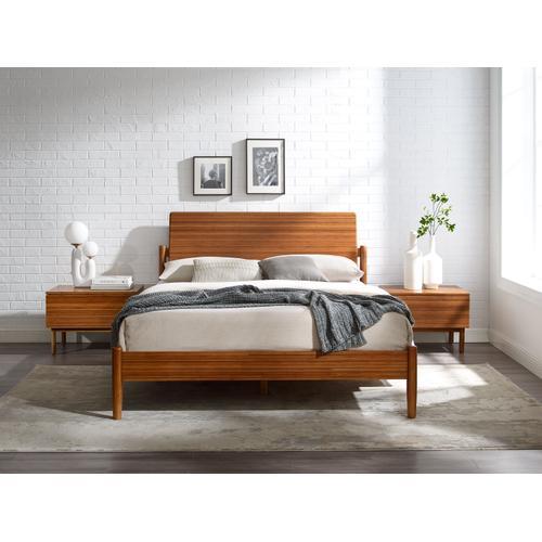 Greenington Fine Bamboo Furniture - Monterey King Platform Bed, Amber