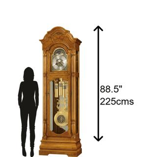 See Details - Howard Miller Scarborough Grandfather Clock 611144