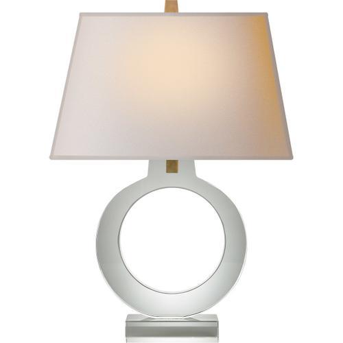 Visual Comfort - E. F. Chapman Ring 27 inch 100.00 watt Crystal Decorative Table Lamp Portable Light