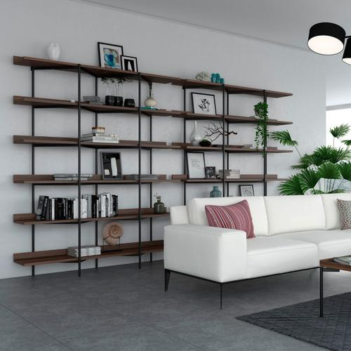 Shelving System 5306 in Satin White Satin White