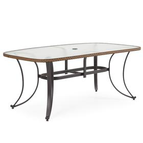 """73"""" x 42"""" Boat Shaped Dining Table"""